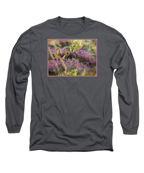 Full Of Hope Long Sleeve T-Shirt by David Norman