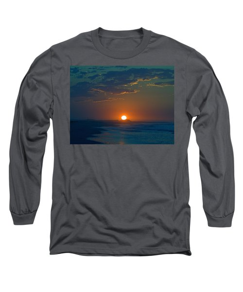 Long Sleeve T-Shirt featuring the photograph Full Sun Up by  Newwwman