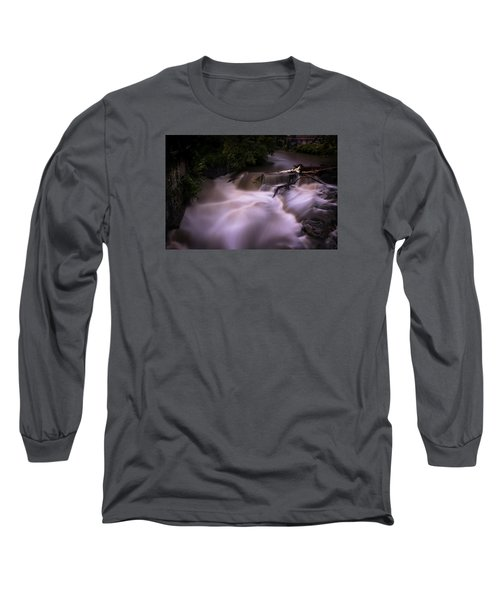 Long Sleeve T-Shirt featuring the photograph Full Whetstone by Tom Singleton
