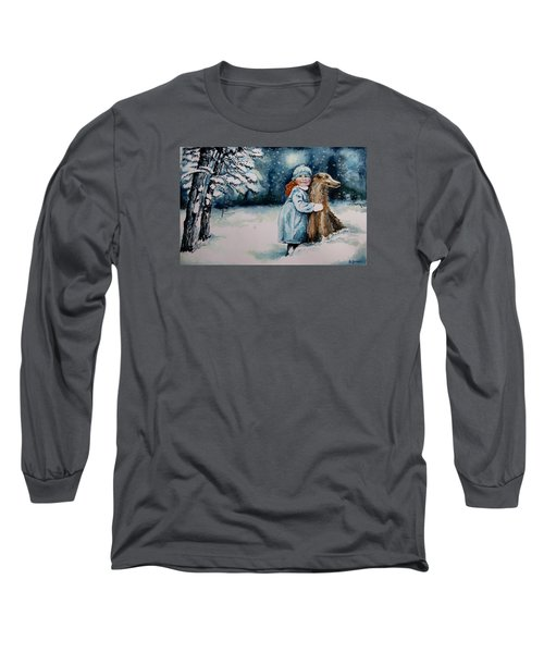 Fun In The Snow Long Sleeve T-Shirt