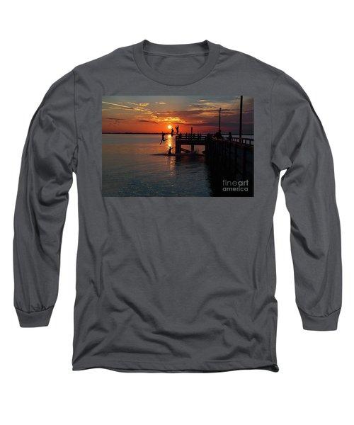 Fun On The Wharf Long Sleeve T-Shirt