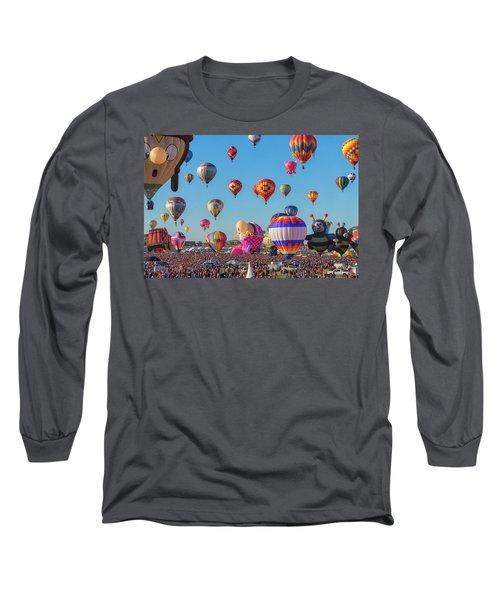 Funky Balloons Long Sleeve T-Shirt