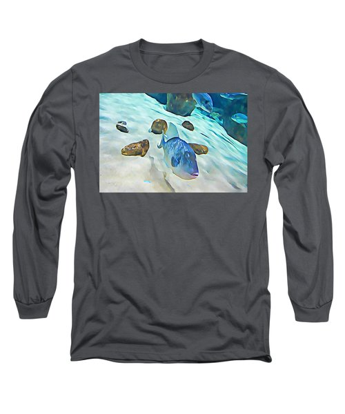 Funny Fish Long Sleeve T-Shirt