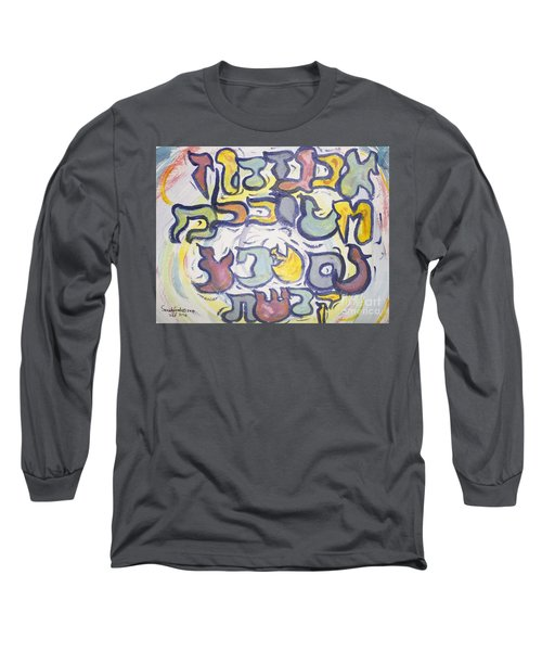 Funnzie Letters Long Sleeve T-Shirt