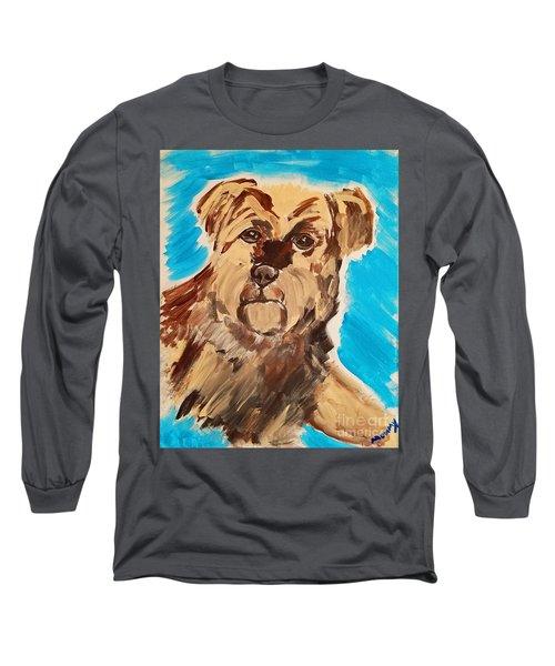 Fuzzy Boy Long Sleeve T-Shirt