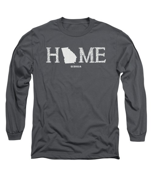 Ga Home Long Sleeve T-Shirt by Nancy Ingersoll
