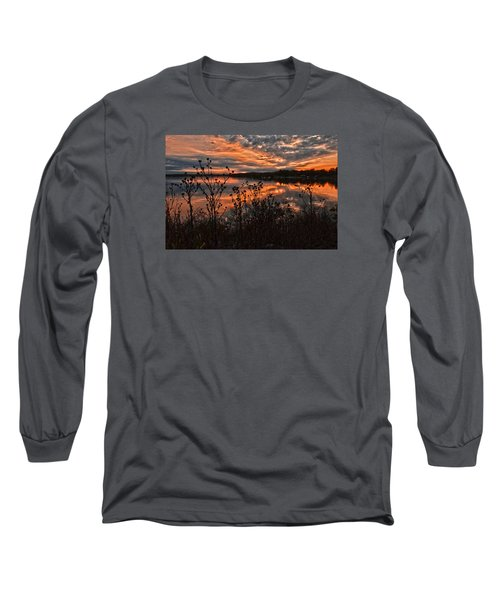 Gainesville Sunset 2386w Long Sleeve T-Shirt by Ricardo J Ruiz de Porras