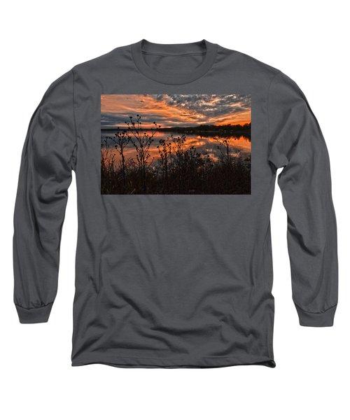 Gainesville Sunset 2386w Long Sleeve T-Shirt