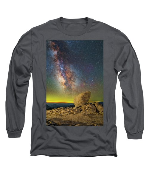 Galactic Erratic Long Sleeve T-Shirt