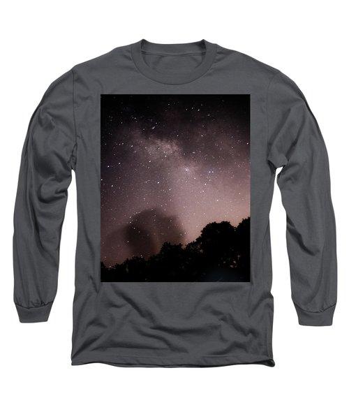 Galaxy Beams Me Long Sleeve T-Shirt by Carolina Liechtenstein