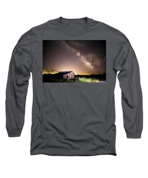 Galaxy In Star Valley Long Sleeve T-Shirt
