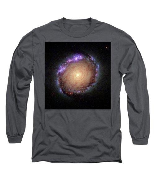 Galaxy Ngc 1512 Long Sleeve T-Shirt