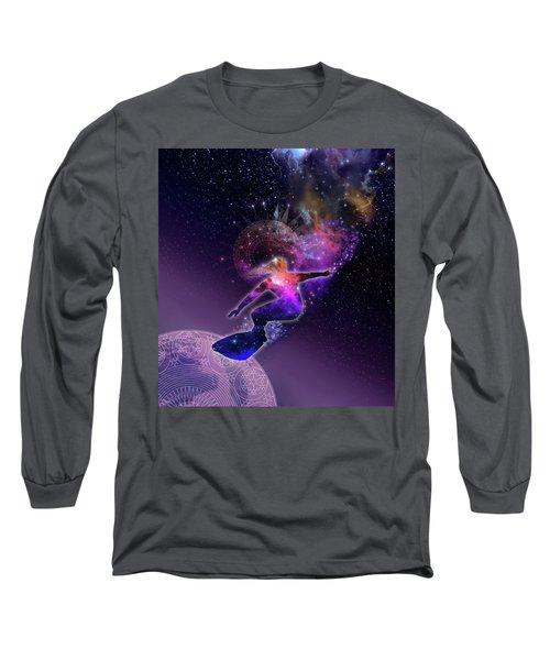 Galaxy Surfer 5 Long Sleeve T-Shirt