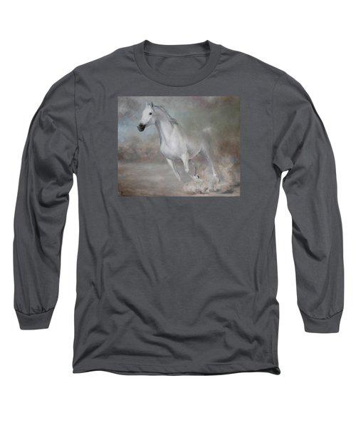Gallop Long Sleeve T-Shirt by Vali Irina Ciobanu