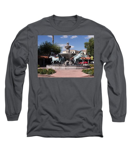 Horses With Vitality And Charm Long Sleeve T-Shirt