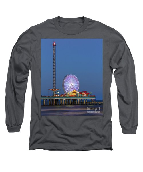 Galveston Pier  Long Sleeve T-Shirt