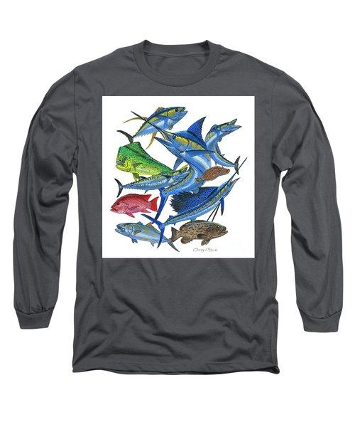 Gamefish Collage Long Sleeve T-Shirt