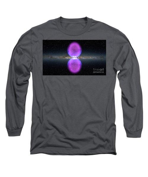 Gamma Ray Bubbles Long Sleeve T-Shirt by Rod Jellison