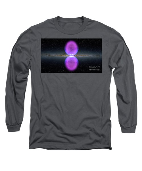 Gamma Ray Bubbles Long Sleeve T-Shirt