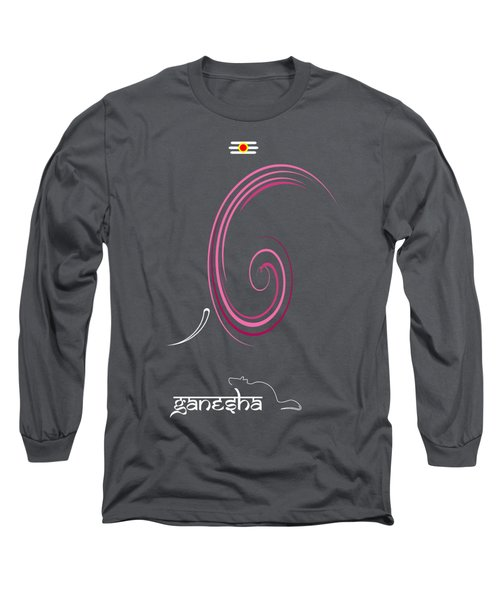 Ganesha Design Long Sleeve T-Shirt