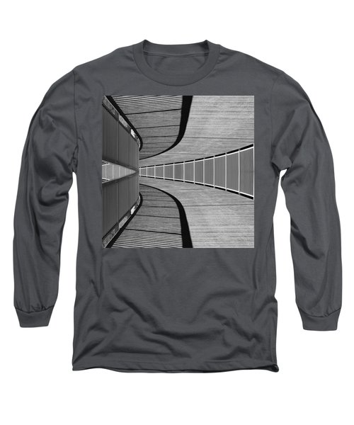 Long Sleeve T-Shirt featuring the photograph Gangway by Chevy Fleet