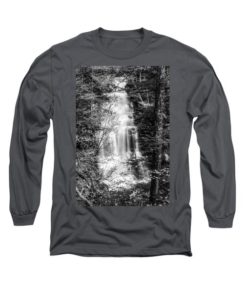 Ganoga Falls - 8907 Long Sleeve T-Shirt by G L Sarti