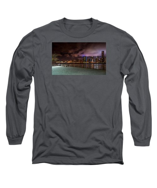 Long Sleeve T-Shirt featuring the photograph Gantry Park by Rafael Quirindongo