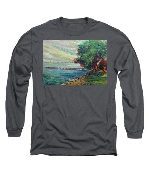 Garda Lake -lago Garda Long Sleeve T-Shirt