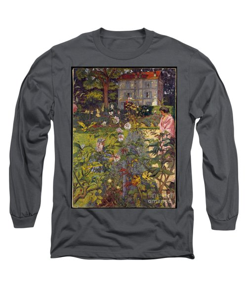 Garden At Vaucresson Long Sleeve T-Shirt