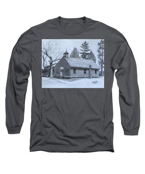Garden Creek Baptist Church  Long Sleeve T-Shirt by Tony Clark