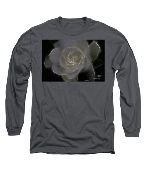 Gardenia Blossom Long Sleeve T-Shirt
