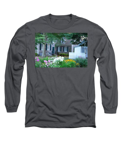 Gardens At The Burton-ingram House - Lewes Delaware Long Sleeve T-Shirt