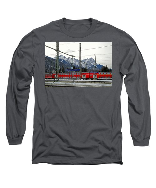 Garmisch-partenkirchen In Winter Long Sleeve T-Shirt