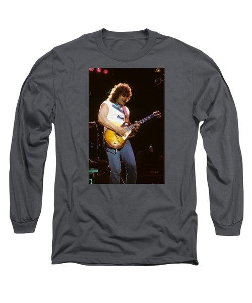 Gary Richrath Of Reo Speedwagon Long Sleeve T-Shirt