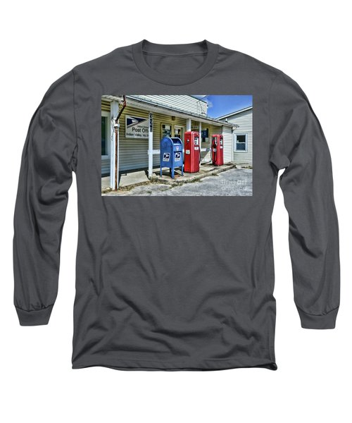 Gas And Mail Long Sleeve T-Shirt by Paul Ward