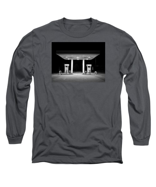 Gas At Night Long Sleeve T-Shirt