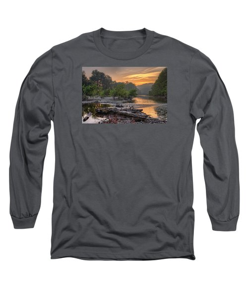 Gasconade River Long Sleeve T-Shirt by Robert Charity