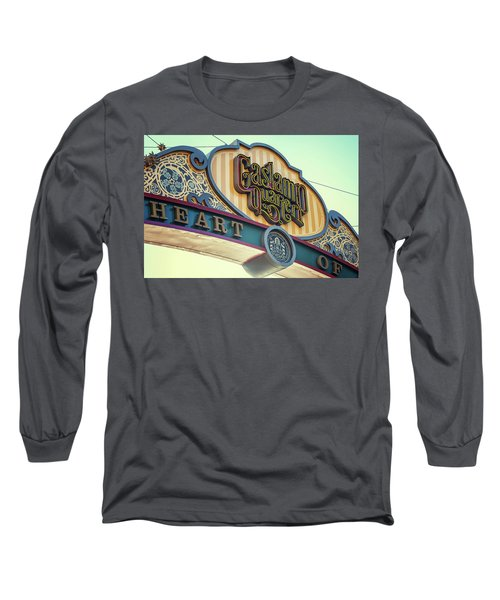 Gaslamp Close Up Long Sleeve T-Shirt