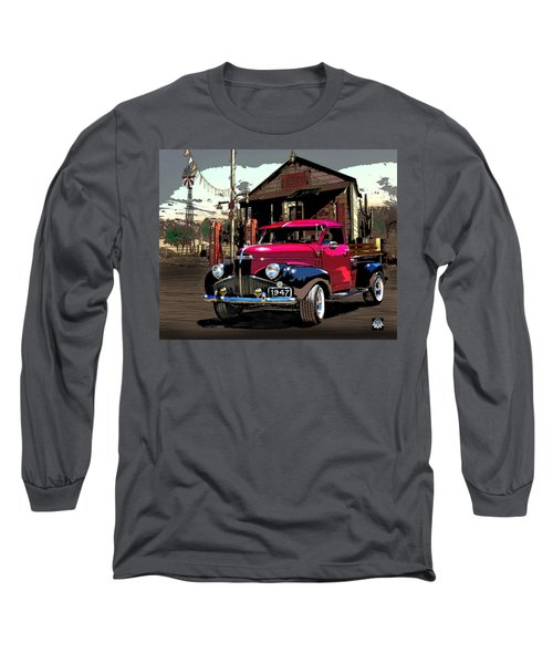 Gassed Up And Ready Long Sleeve T-Shirt