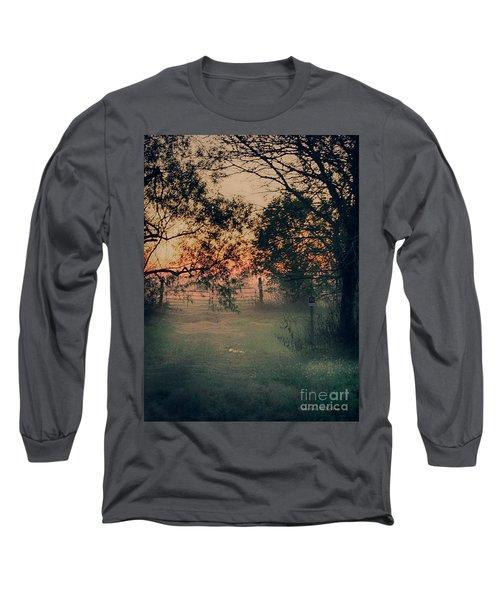Gated Sunset Long Sleeve T-Shirt