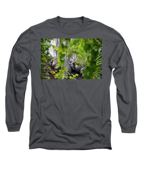 Gator Love Long Sleeve T-Shirt by Josy Cue