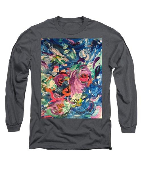 Gaze Of Lynx Long Sleeve T-Shirt