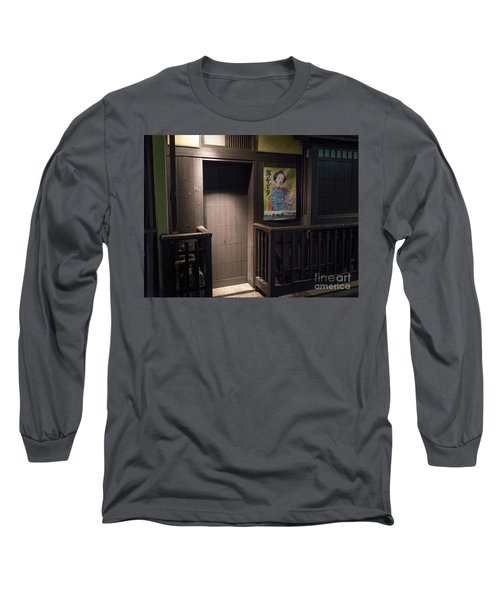 Geisha Tea House, Gion, Kyoto, Japan 2 Long Sleeve T-Shirt