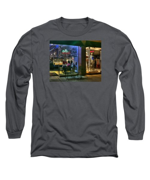 Gelato In La Jolla Long Sleeve T-Shirt