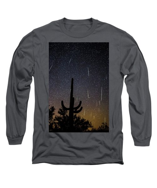 Geminid Meteor Shower #2, 2017 Long Sleeve T-Shirt