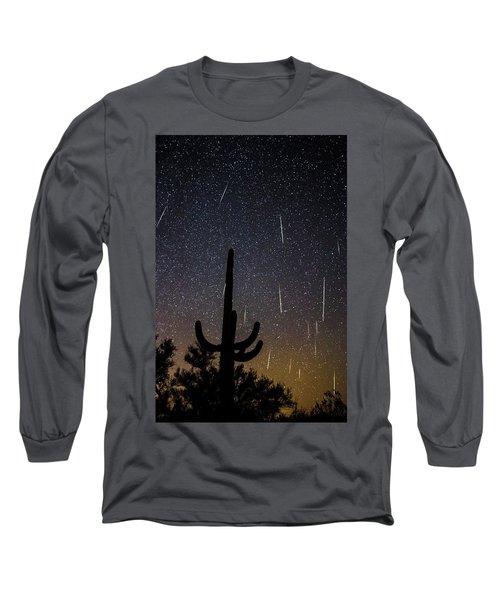 Geminid Meteor Shower #2, 2017 Long Sleeve T-Shirt
