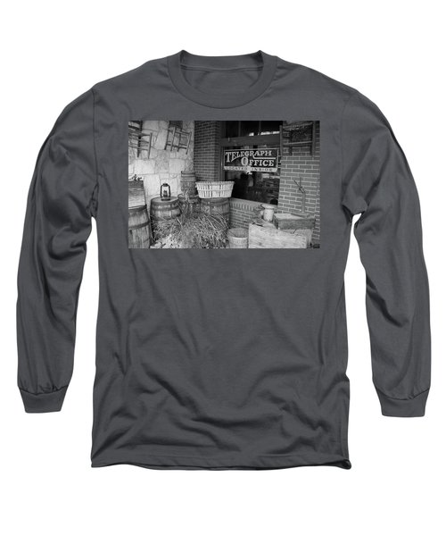 General Store Long Sleeve T-Shirt by Inspirational Photo Creations Audrey Woods