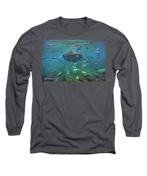 Gentle Giant Long Sleeve T-Shirt by Tim Fitzharris