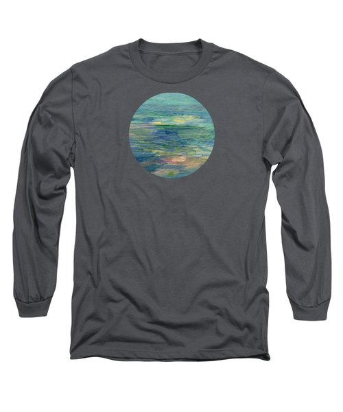 Gentle Light On The Water Long Sleeve T-Shirt by Mary Wolf