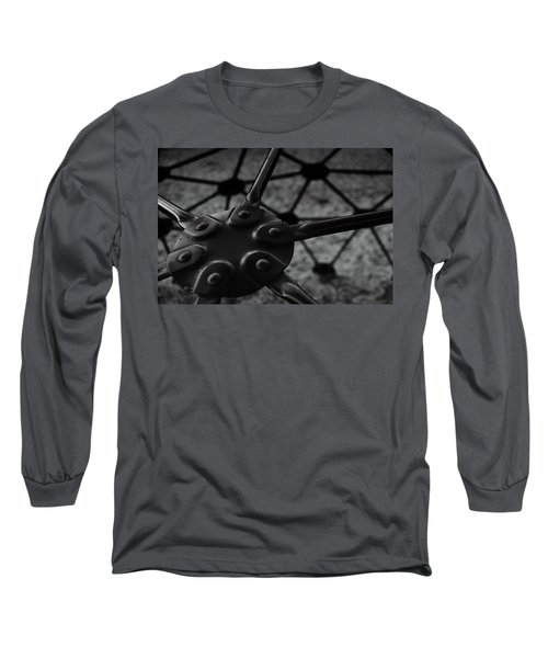 Long Sleeve T-Shirt featuring the photograph Geodome Climber 2 by Richard Rizzo